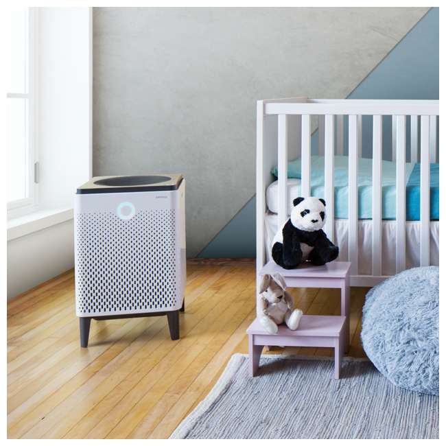 AIRMEGA400 + AP-2015-FP Coway HEPA Air Purifier with Air Quality Monitoring + 400 Series Filter Pack 5