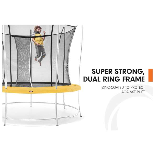 BVL0820 Vuly Trampolines Lift Trampoline with Double-Sided Safety Pads, Small 4