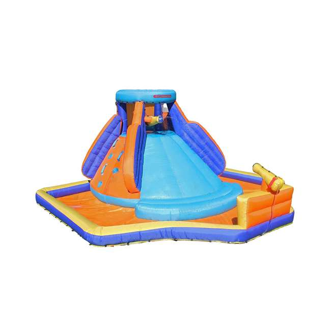 INF-1811  Battle Ridge Water Slide Inflatable with Water Cannons