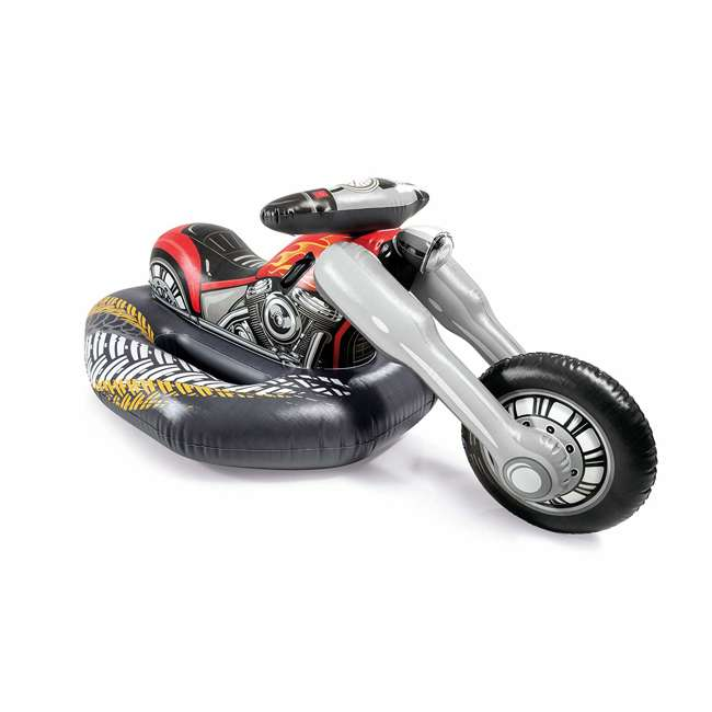 57534EP Intex 57534EP Cruiser Motorcycle Inflatable Ride-On Pool Float Toy for Ages 3+