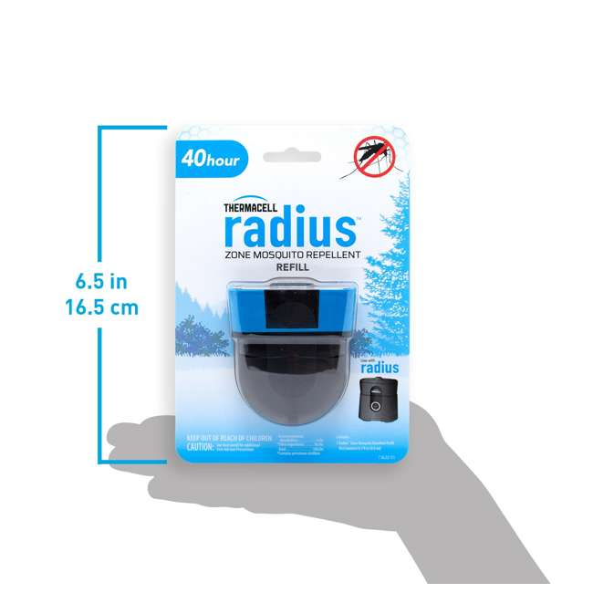 3 x LR-1-40 Thermacell LR-1-40 Radius Zone Mosquito Sealed 40-hour Repellent Refill (3 Pack) 6