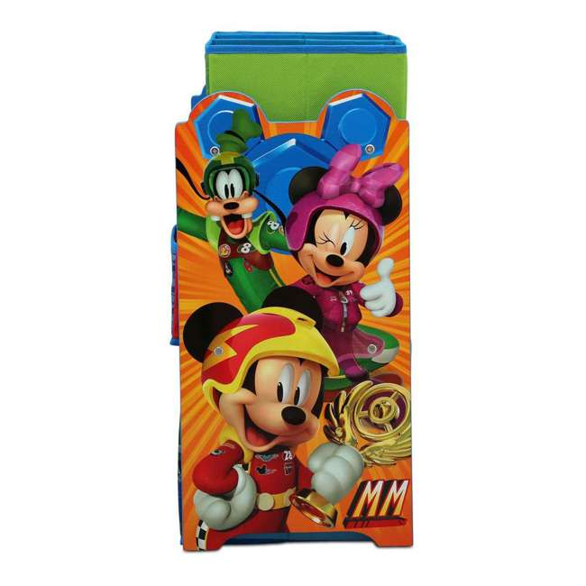 TB83242MM-1053 Delta Children Disney Mickey Mouse Multi Toy Box Bin Wood Storage Organizer 2