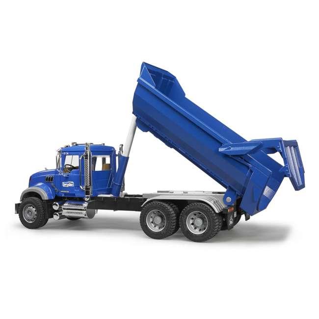 Bruder Toys Mack Granite Halfpipe Dump Truck 02823 Br