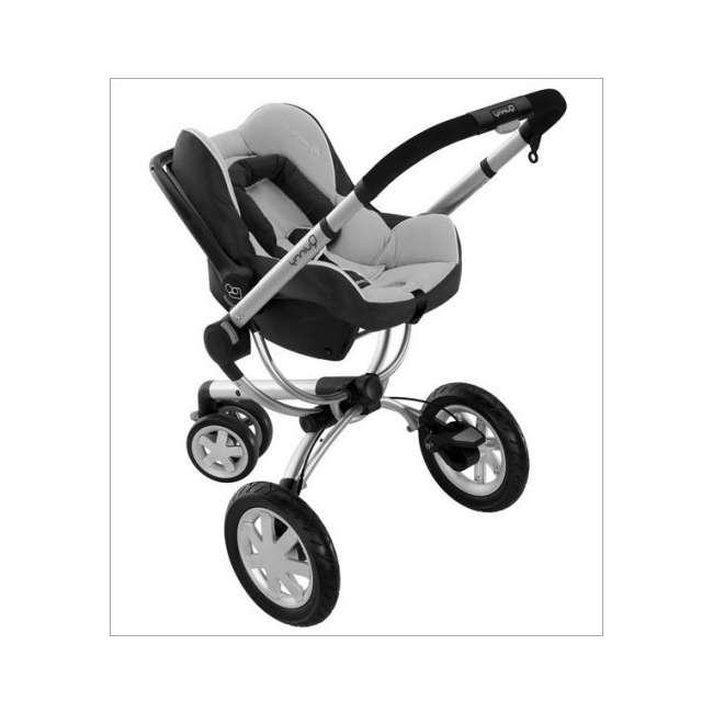 IC099APU Maxi-Cosi Mico Baby Infant Seat & Base -Total Black 2