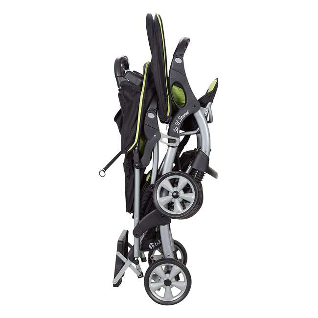 SS76B71A Baby Trend Sit N' Stand Double Stroller, Optic Green 2