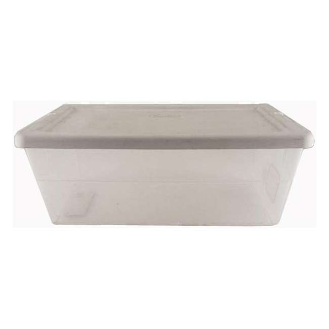 18 x 16428012-U-A 12) Sterilite 16428012 6 Quart Storage Tote Shoe Box Containers -Open Box (Pair) (18 Pack) 2