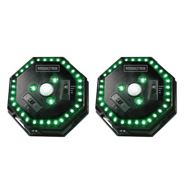 MFA-12651 (2) Moultrie Motion-Activated LED Feeder Hog Lights | MFA-12651