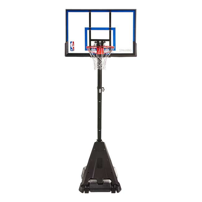75355 Spalding Hercules Exactaheight Portable Basketball Hoop System 50 Inch Acrylic 1