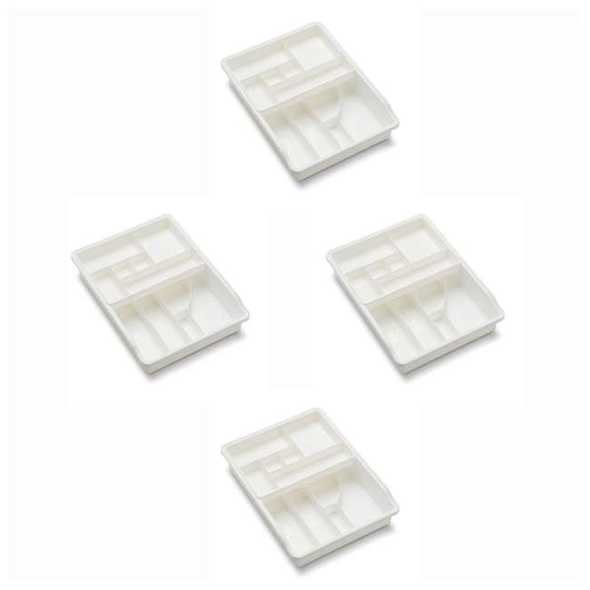4 x 15111 Madesmart Original Multipurpose Junk Drawer Storage Bin (4 Pack)