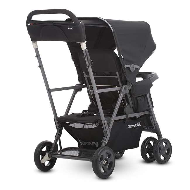JVY-8117 Joovy Caboose Ultralight Lightweight Canopy Stroller, Black 1