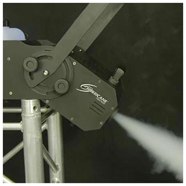 H1800FLEX + FJU Chauvet H1800FLEX Hurricane Fog/Smoke Pro Machine + Fog Juice Fluid (1 Gallon) 6