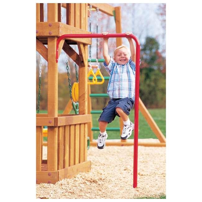 AA918-603 Creative Playthings AA918-603 Kids Backyard Playground Steel Chin Pull Up Bar 1