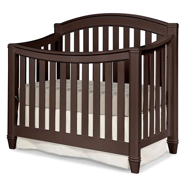 04565-309 + EM642-PHN1 Thomasville Kids Highlands Crib, Espresso & Sealy Posturepedic Mattress 5