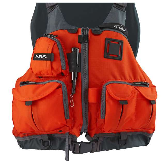 Nrs chinook fishing pfd small medium safety life jacket for Nrs chinook fishing pfd