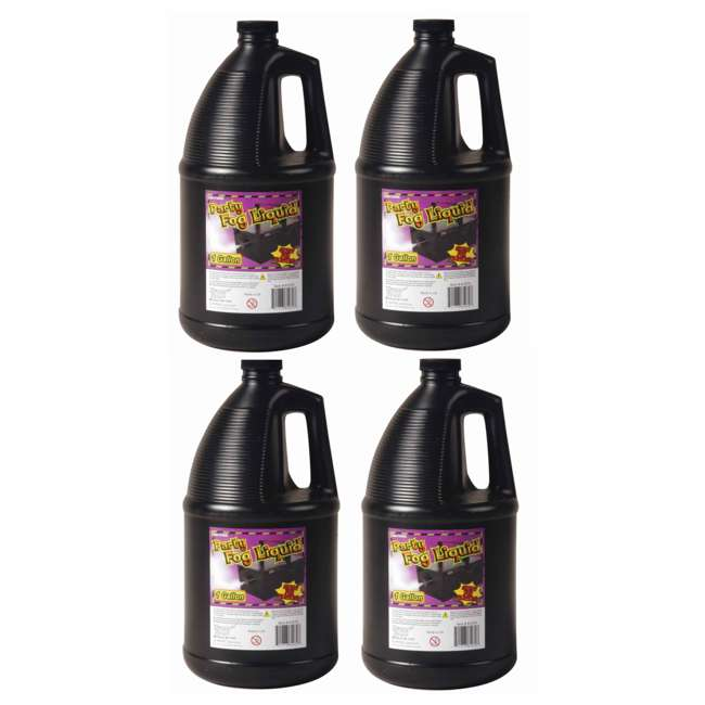 4 x 61070 (4) 1 Gallon Halloween Fog Liquid Fluid Juice