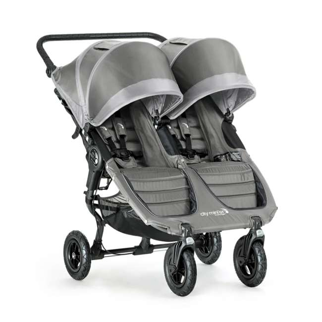 1962773 Baby Jogger City Mini GT Double Stroller, Gray