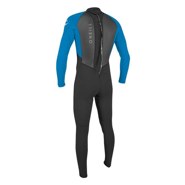 5040-EJ7-L Reactor II 3/2 MM Thick Back Zip Full Wetsuit, Large 1
