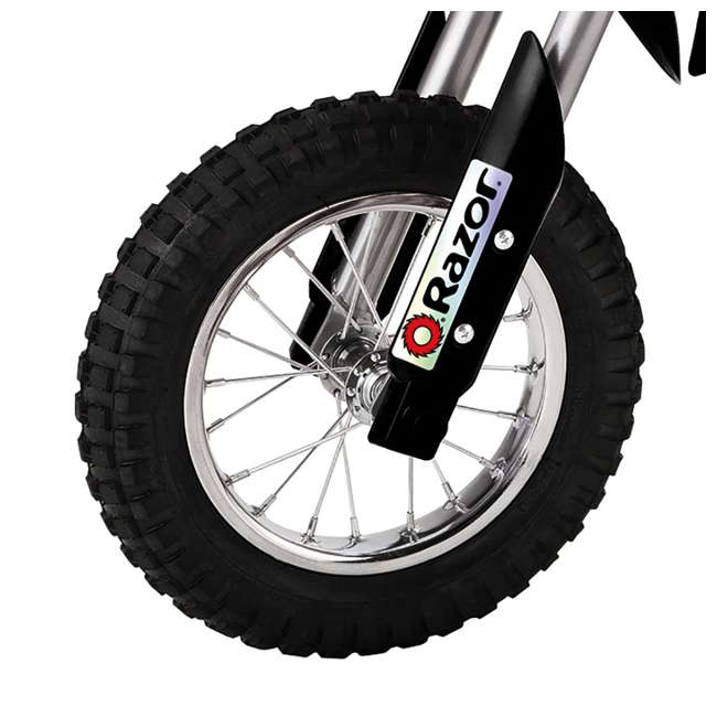 15128099 Razor MX400 Dirt Rocket Electric Motorcycle, Black 5