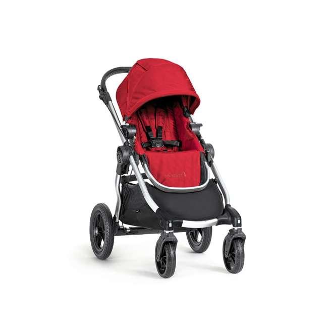 1959407 Baby Jogger City Select Folding Stroller, Ruby