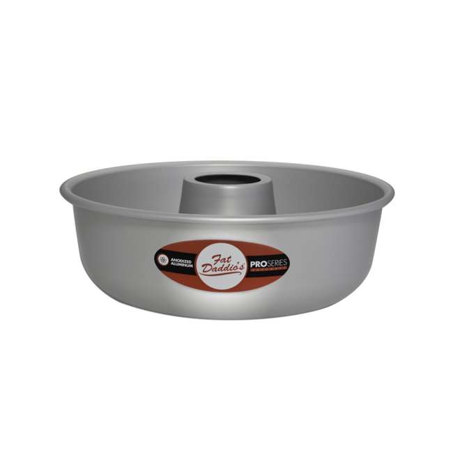 RMP-9 Fat Daddio's RMP-9 Anodized Aluminum Baking Cooking Ring Mold Pan, 9 x 2.75 Inch