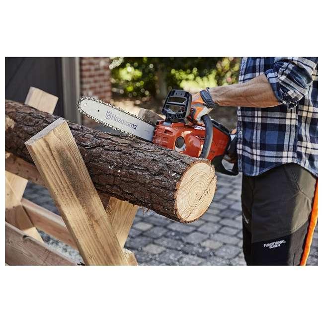 HV-CS-967098102 + HV-TOY-522771104 Husqvarna 14-Inch Brushless Chainsaw and 440 Toy Childrens Chainsaw, Orange 5