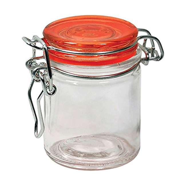 GH-50869-24 PACK Grant Howard 50869 1.7 Ounce Fiesta Mini Round Colorful Spice Jars, Set of 24