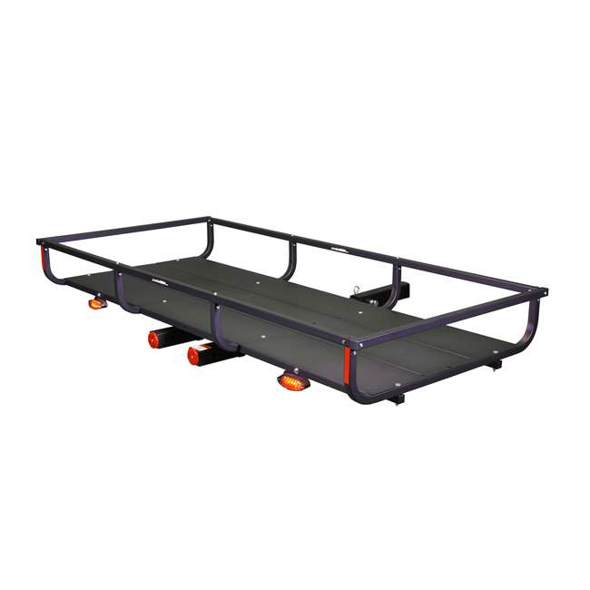 H01397 Let's Go Aero H01397 GearCage FP6 Slideout Hitch Rack w/ Silent Hitch Pin & LED