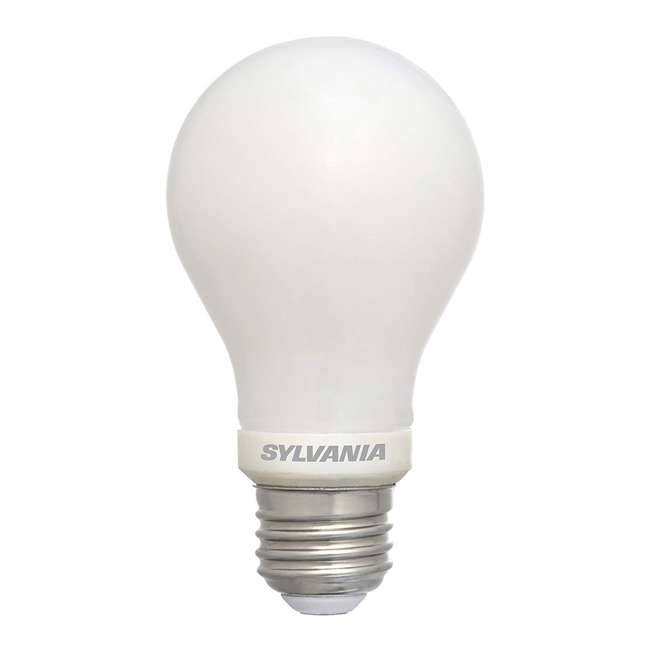 SYL-78038-4PK Sylvania 60W Equivalent LED Light Bulb, Dimmable, Bright White (8 Bulbs) 1