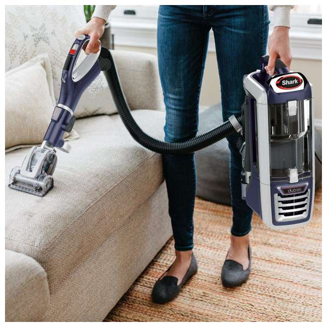 NV831_EGB-RB Shark NV831 DuoClean Lift Away Upright Vacuum, Red (Certified Refurbished) 1