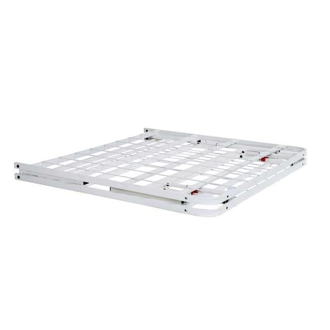 VMI-18QIB2-112-WT-U-A intelliBASE Bi-Fold Platform White Metal Bed Frame, Queen  5
