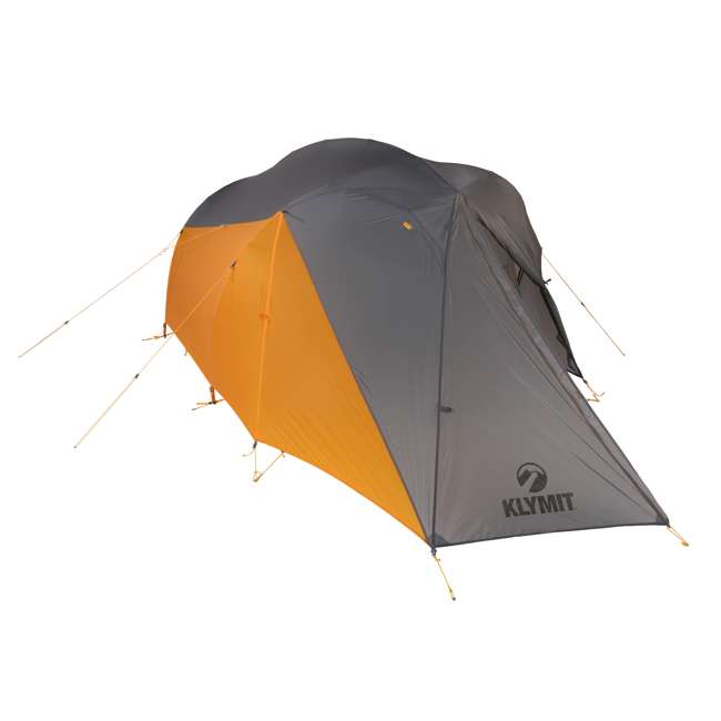 09M2OR01B Klymit 09M2OR01B Maxfield 2 Person 3 Season Lightweight Backpacking Camping Tent 2