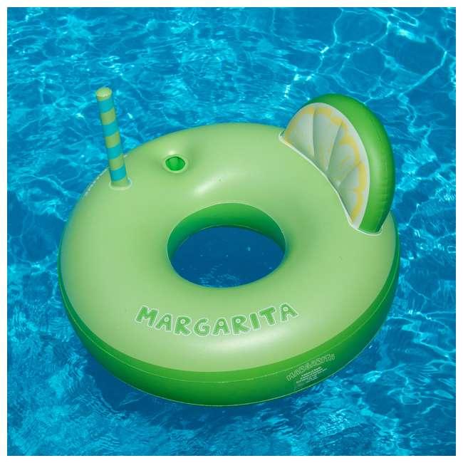 SL-90198 Swimline Inflatable Margarita Swimming Pool Float Tube 2