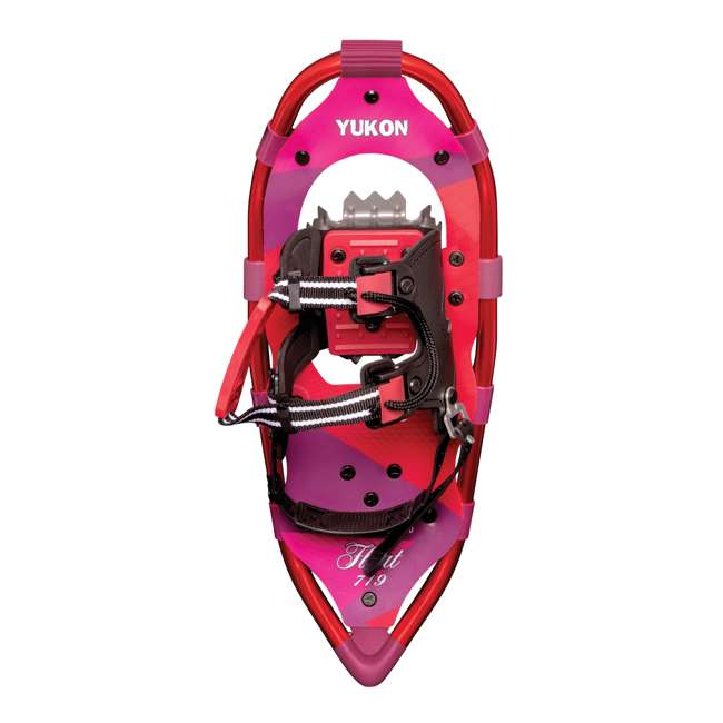 80-3022 Yukon Charlie's 80-3022 Advanced 7x19 Youth Backcountry Hiking Snowshoes, Pink