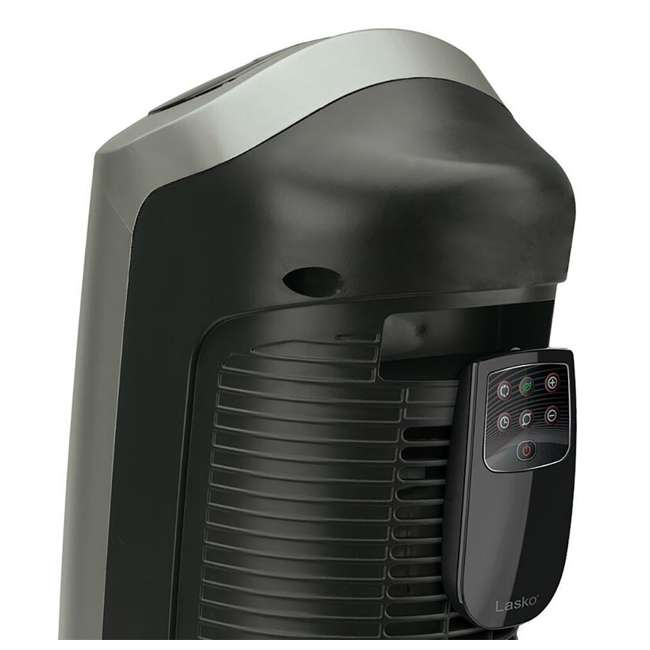 LKO-5538-TN-U-B Lasko 1500W Oscillating Ceramic Space Heater Tower with Digital Display (Used) 3
