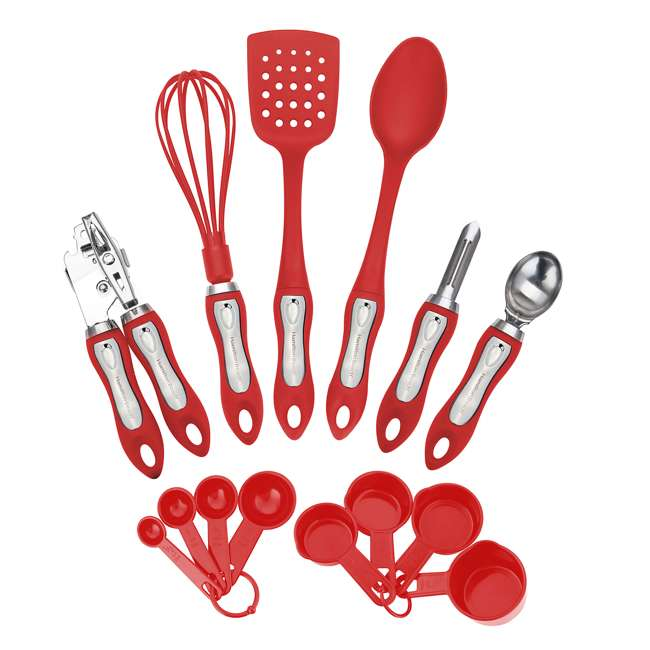 HGA602 + HGA602R + HGI601 Hamilton Beach Kitchen Gadget Set (Set of 2) & Utensil Set  2