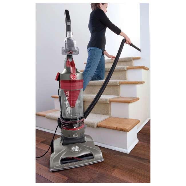 UH70121PC Hoover T-Series WindTunnel Rewind Plus Bagless Upright Vacuum  1