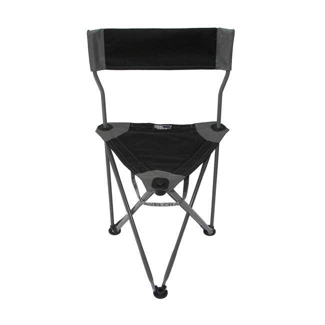 1489V2BK TravelChair Ultimate Slacker 2.0 Portable Outdoor Folding Stool Seat, Black