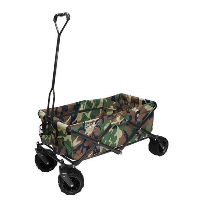 COD-900248-CAMO Creative Outdoor All-Terrain Folding Wagon, Camouflage