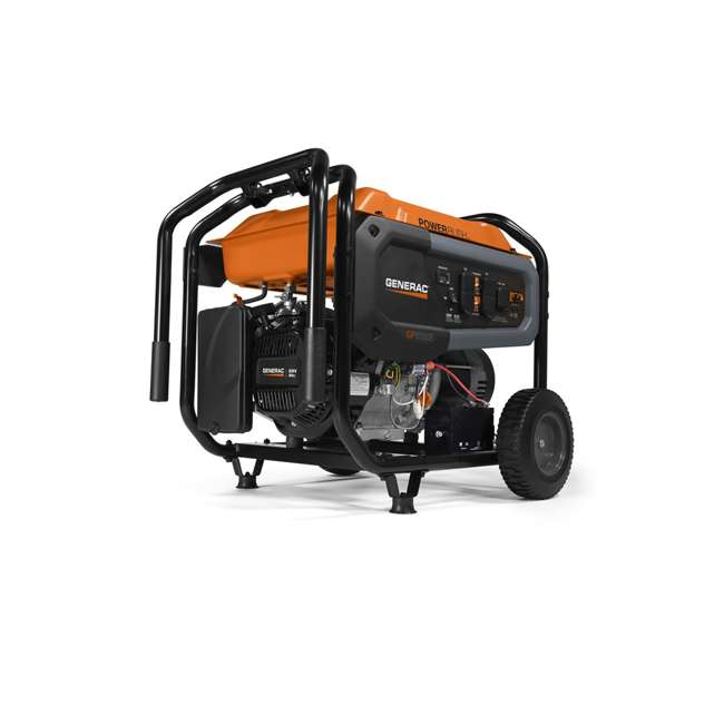 GNRC-76771 Generac GP Series 3600 Watt OHV Engine Portable Generator, Orange