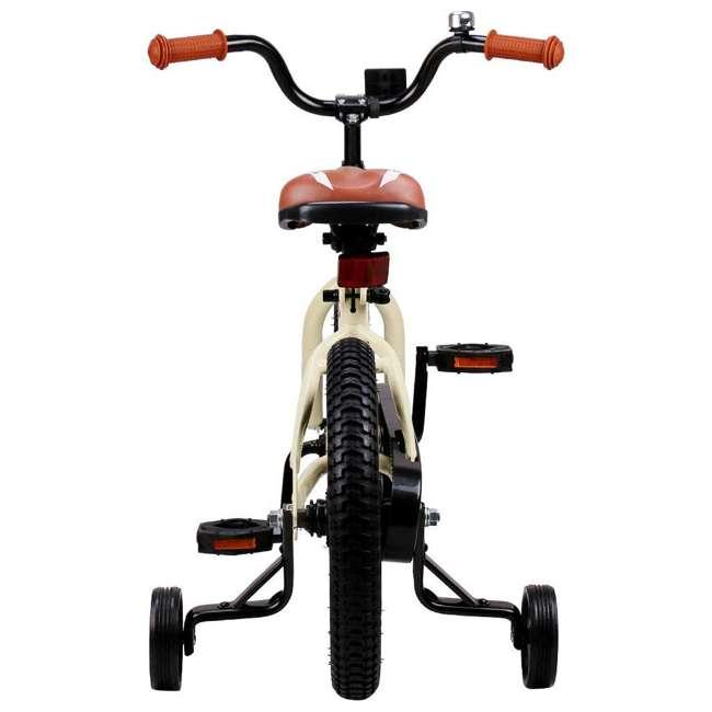 BIKE008-16 JOYSTAR Totem Series 16-Inch Kids Bike with Training Wheels & Kickstand, Ivory 4