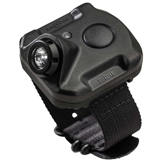 2211-A-BK-PLM SureFire 2211 Durable Rechargeable Variable-Output LED WristLight, Without Watch