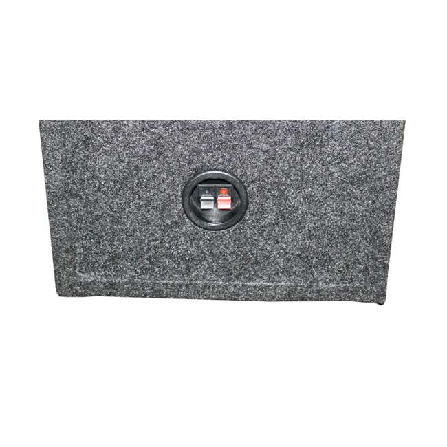 VM12SEALED QPower Dual 12-Inch Subwoofer Box Enclosure QPSQ12EM 3