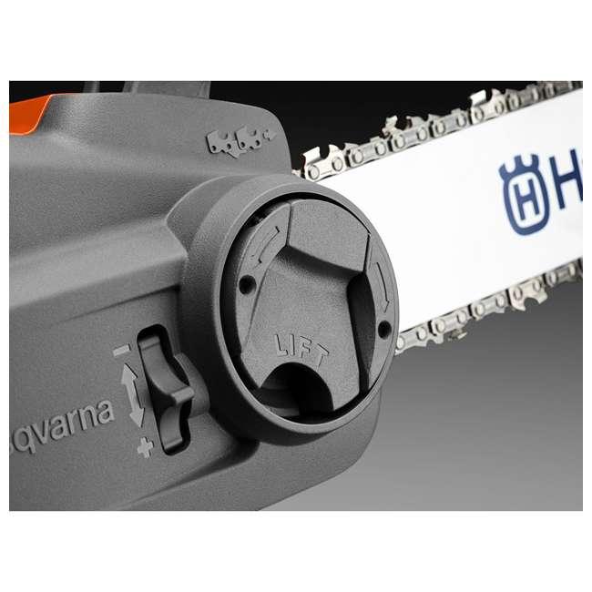 HV-CS-967098102 + HV-TOY-522771104 Husqvarna 14-Inch Brushless Chainsaw and 440 Toy Childrens Chainsaw, Orange 7