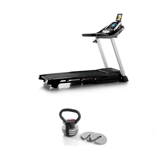 PFTL10916 + WAWKB4017 ProForm 905 CST iFit Folding Treadmill + Weider PowerBell 40 Pound Kettlebell