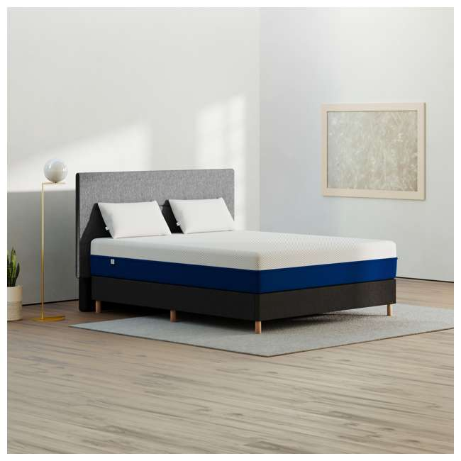 AS2-Q Amerisleep AS2 Back/Stomach Sleeper Medium Firm Memory Foam Bed Mattress, Queen 3