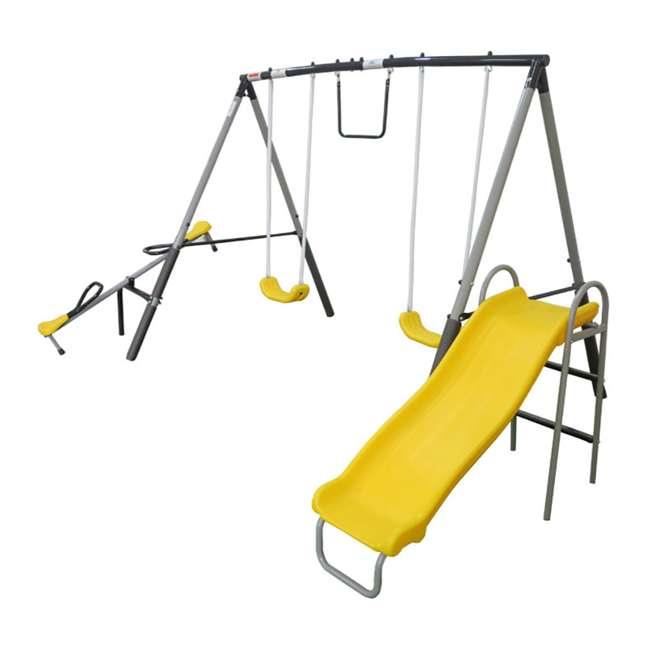 XDP-74506K XDP Recreation The Titan Outdoor Playground Kids' Swing Set 1