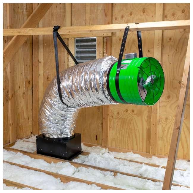 QC-ES-2250 QuietCool Whole House Energy Saver Fan System QC ES-2250 (2 Pack) 2