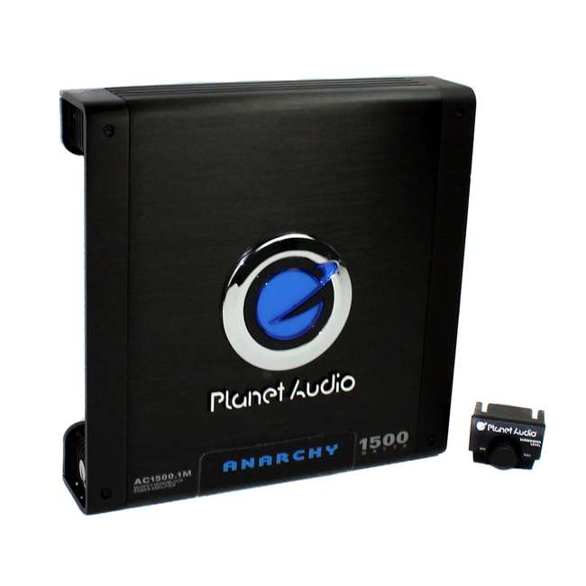 TNE212D + AC15001M + AKS8 Mtx TNE212D 12-Inch 1200W Dual Loaded Subwoofers Audio with Box with Planet Amp with Kit (Package) 3
