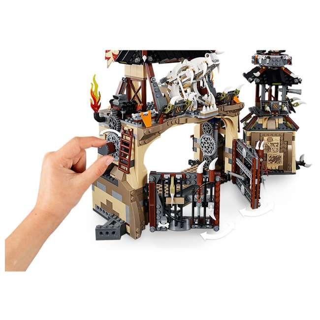 6212703-U-A LEGO NINJAGO Dragon Pit 1660 Piece Castle Set 9 Minifigure Characters (Open Box) 7