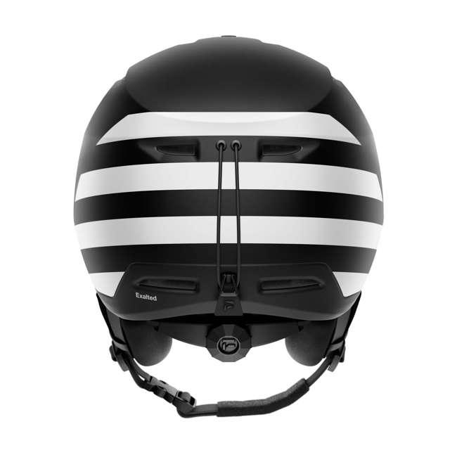 FX901101025SM Flaxta Exalted Protective Ski and Snowboard Full Helmet Small/Medium Size, Black 2